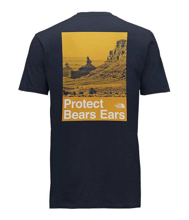 MEN'S SHORT SLEEVE BEARS EARS COTTON TEE