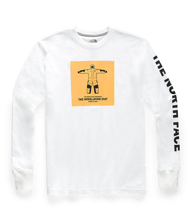 Men's Long-Sleeve From The Beginning Heavyweight Tee