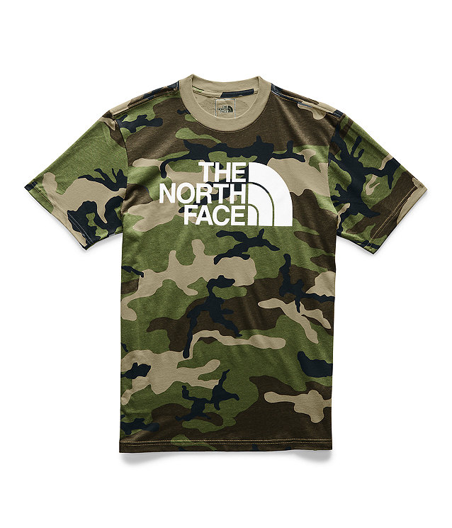 Men's Short-Sleeve Camo Half Dome Tee