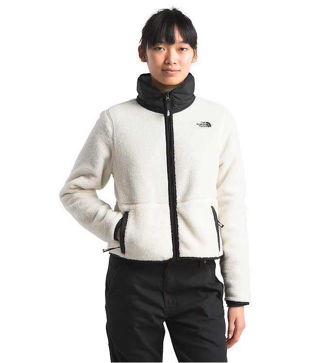 Women S Dunraven Sherpa Crop Jacket The North Face