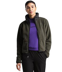 407912084 Women's Dunraven Sherpa Crop Jacket