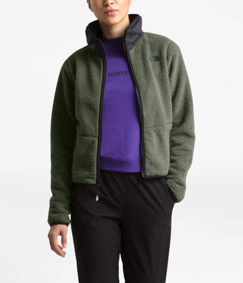 Women's Dunraven Sherpa Crop Jacket-