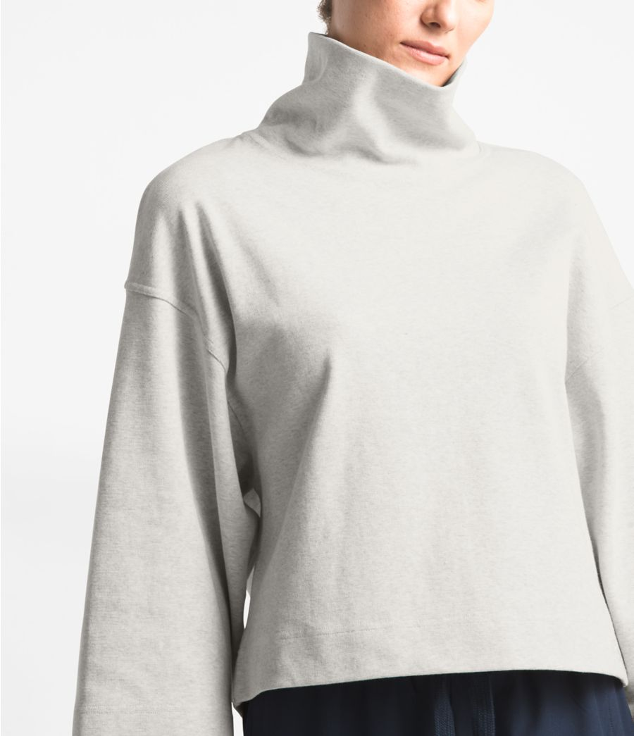 Women's Outerlands Funnel Neck Waffle Top-