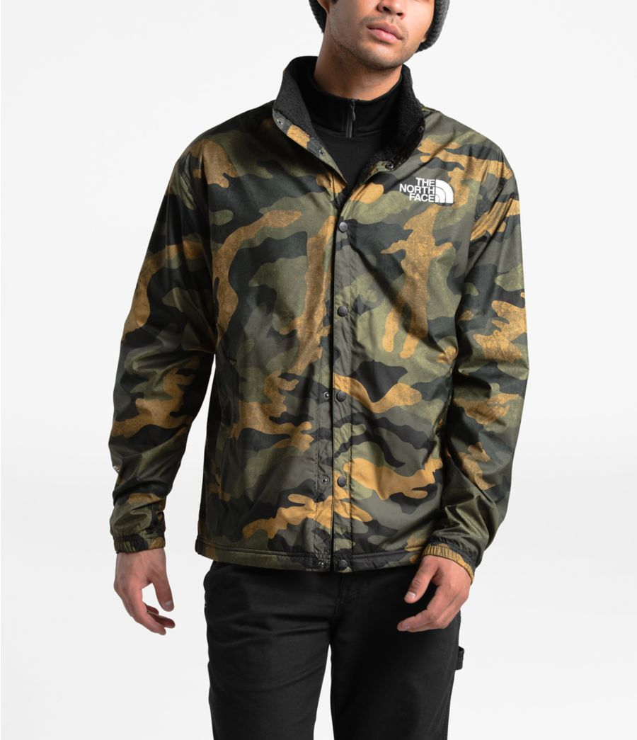 Men's Telegraphic Coaches Jacket-