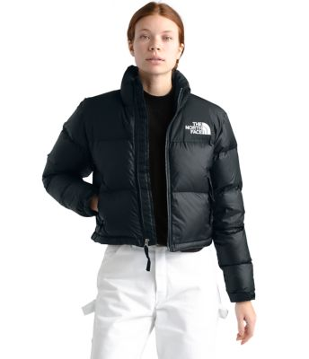 Women's Nuptse Crop Jacket by The North Face