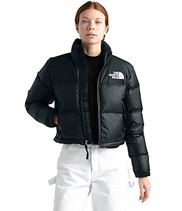fc5e3bf19 Women's Nuptse Crop Jacket