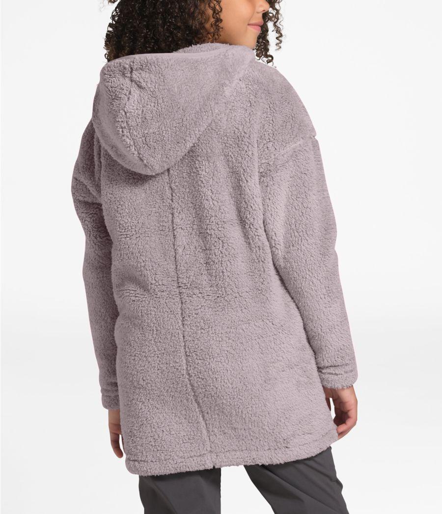 Manteau à capuchon long Campshire pour filles-