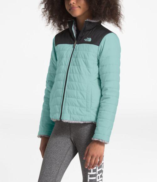 Girls' Reversible Mossbud Swirl Jacket-