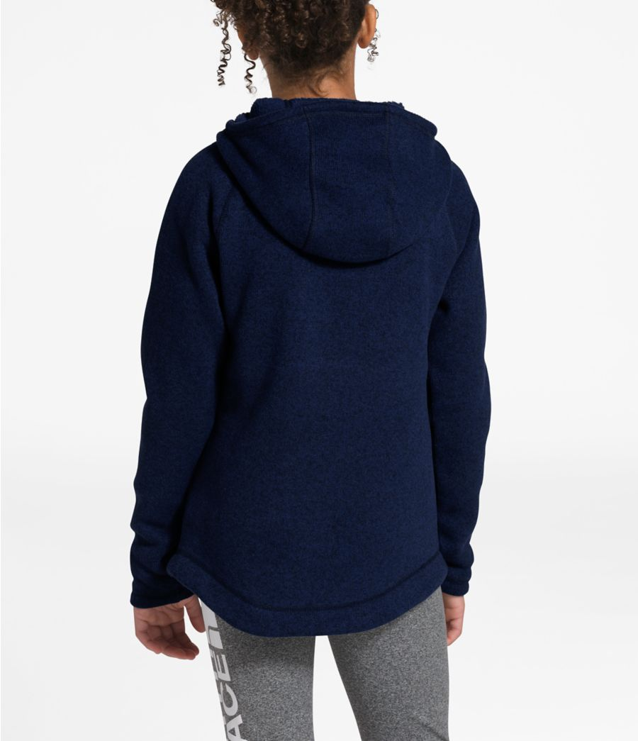 Girls' Crescent Pullover Hoodie-
