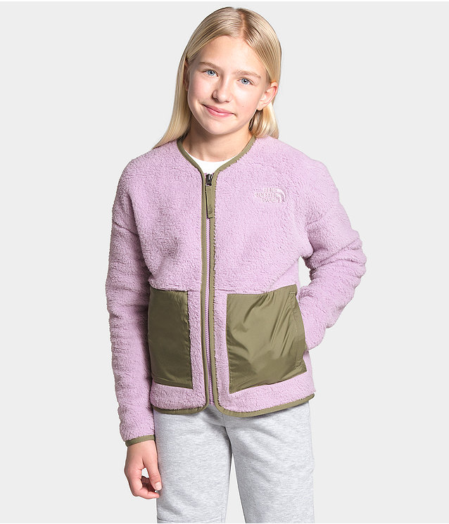Girls' Camplayer Fleece Cardigan