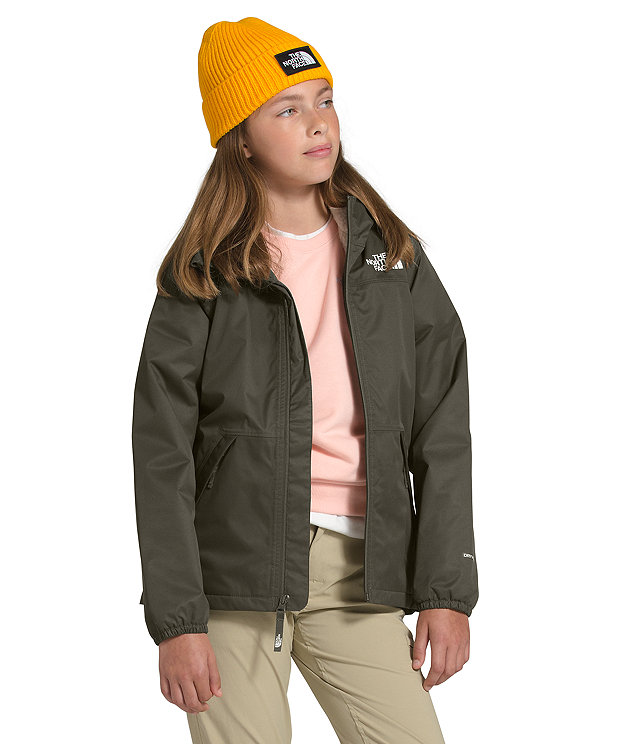 Girls' Warm Storm Rain Jacket