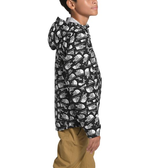 Youth Novelty Flurry Wind Hoodie-