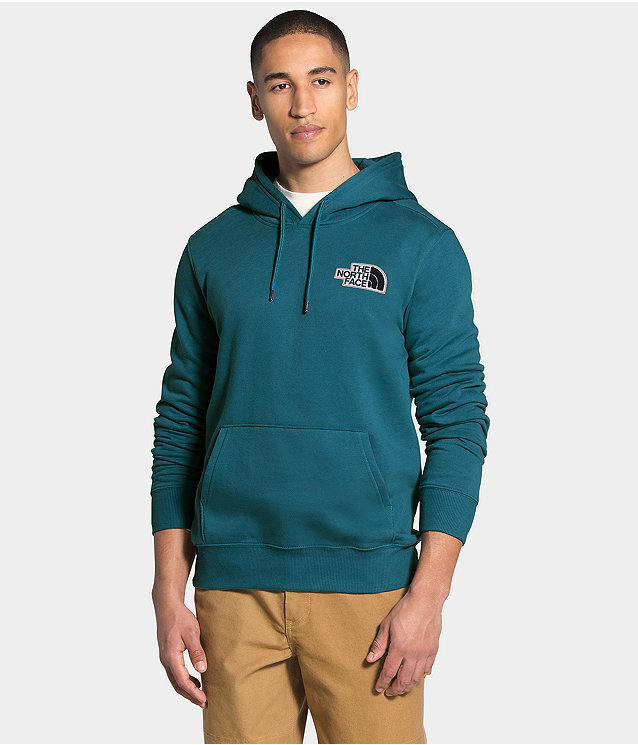 Men's Patch Pullover Hoodie