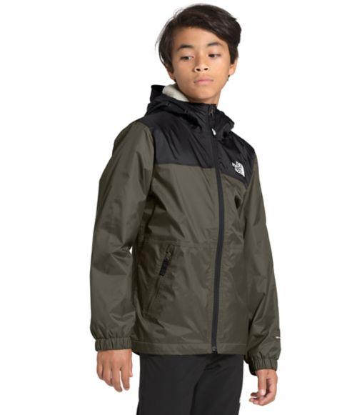 Boys' Warm Storm Rain Jacket-