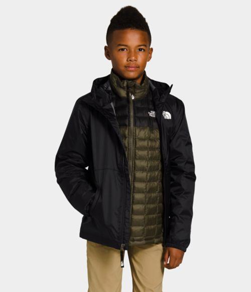 Youth Zipline Rain Jacket-
