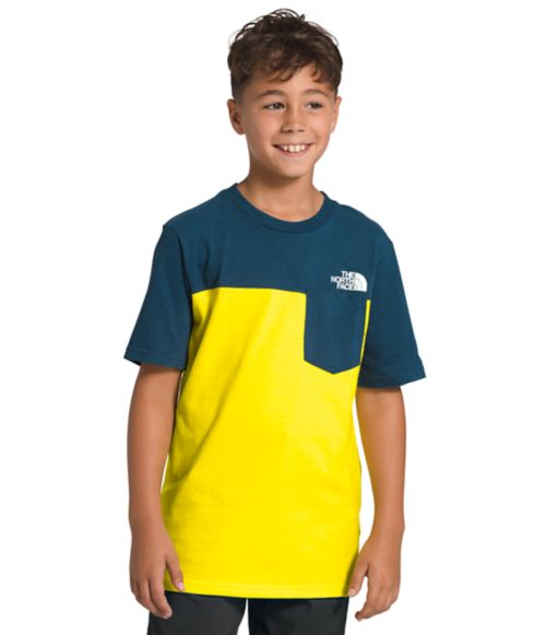 Boys' Short Sleeve Pocket Tee-