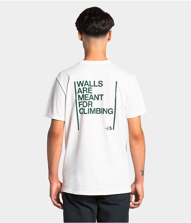 Unisex S/S Walls Are Meant For Climbing Tee