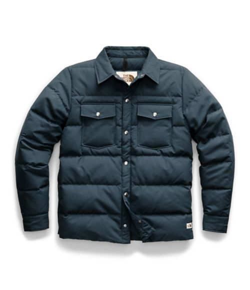 Men's Down Sierra Snap Jacket-