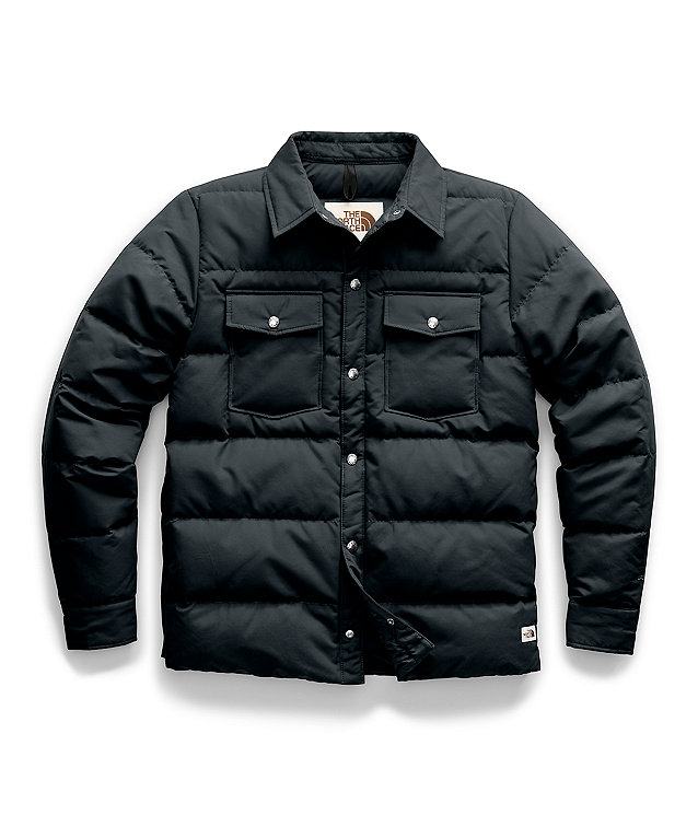 Men's Down Sierra Snap Jacket