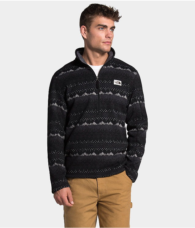 Men's Gordon Lyons Novelty ¼ Zip Pullover