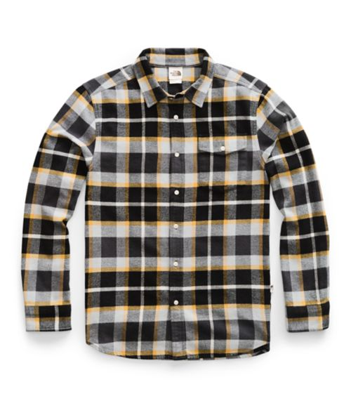 Men's Long-Sleeve Arroyo Flannel Shirt-