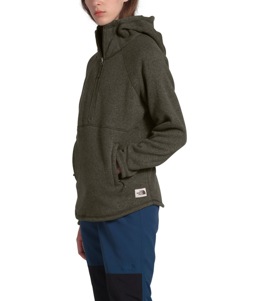Women's Crescent Hooded Pullover-