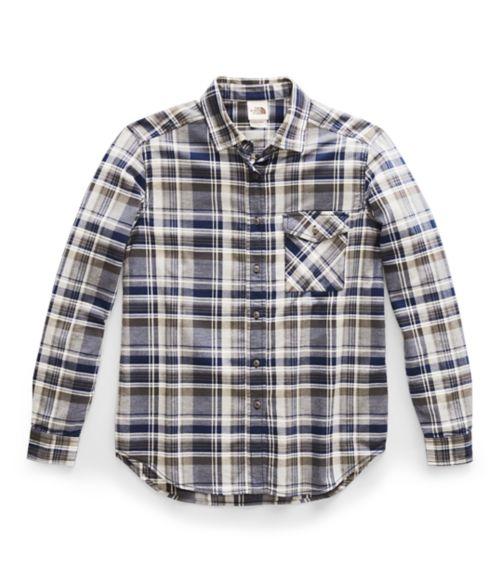 Women's Long-Sleeve Boyfriend Shirt-