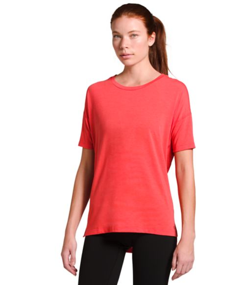 Women's Workout Short-Sleeve-
