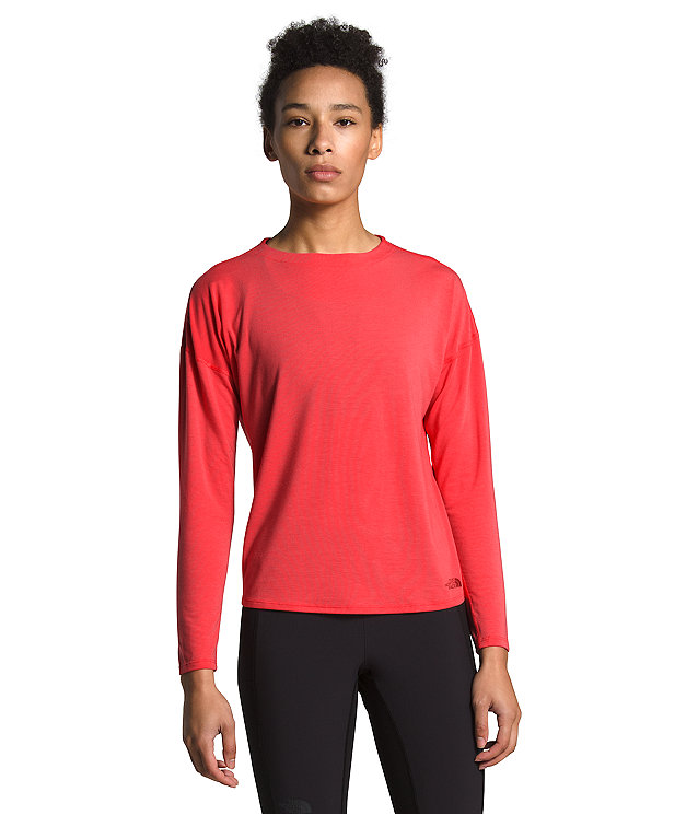 Women's Workout Novelty Long-Sleeve Tee