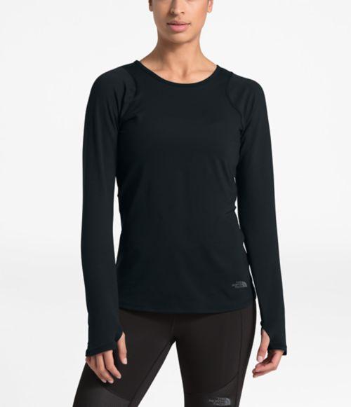 T-shirt à manches longues Flight Night pour femmes-