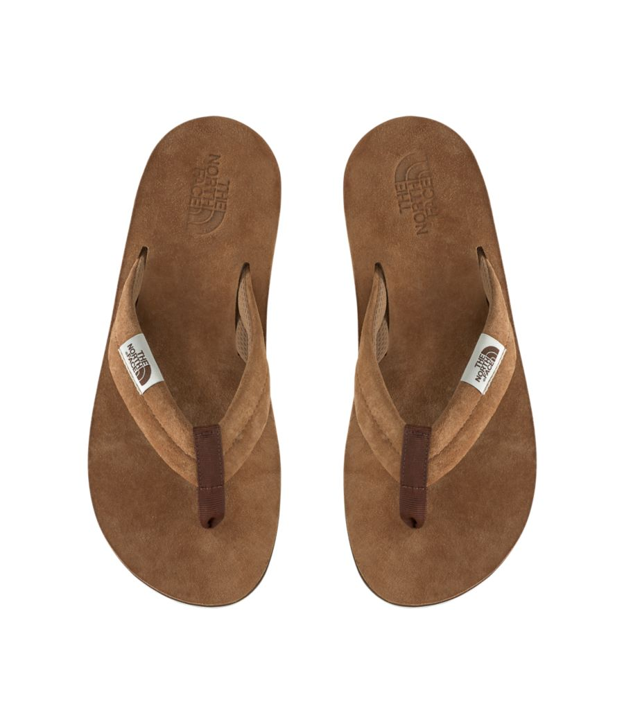 Men's Base Camp Leather Flip-Flop-