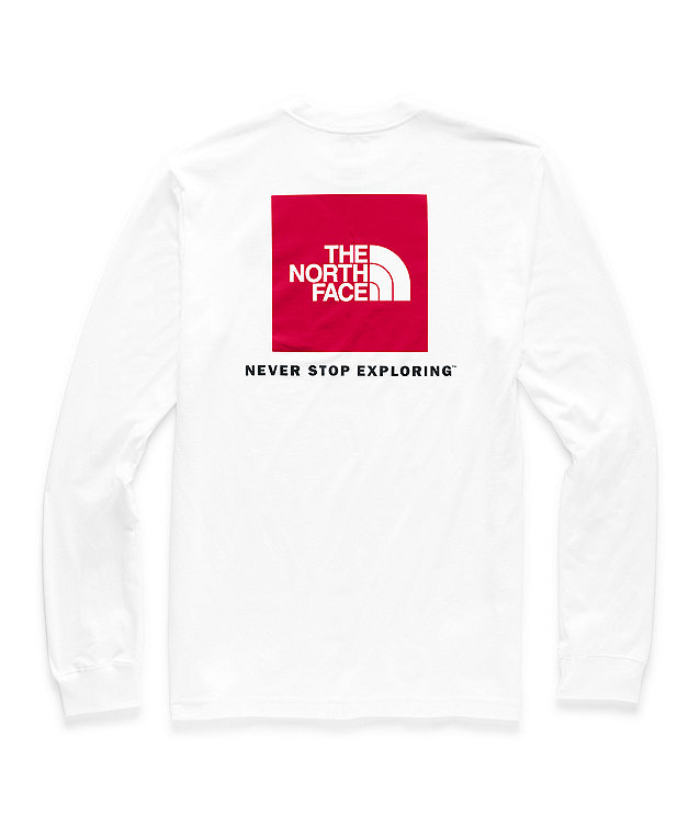 Men's Long-Sleeve Red Box Tee