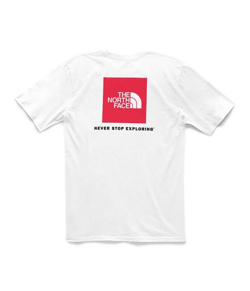 T-shirt Red Box pour hommes-