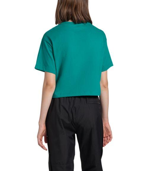 T-shirt court en coton pour femmes-