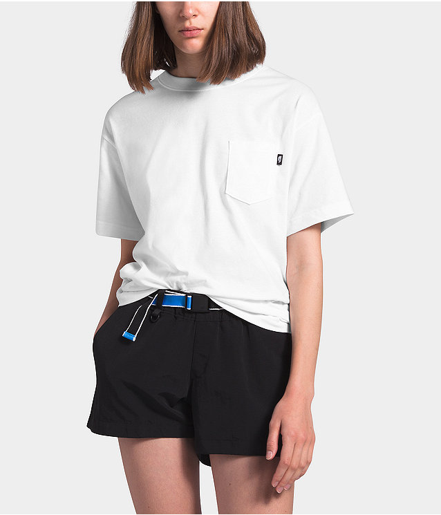 Women's Short Sleeve Relaxed Pocket Tee