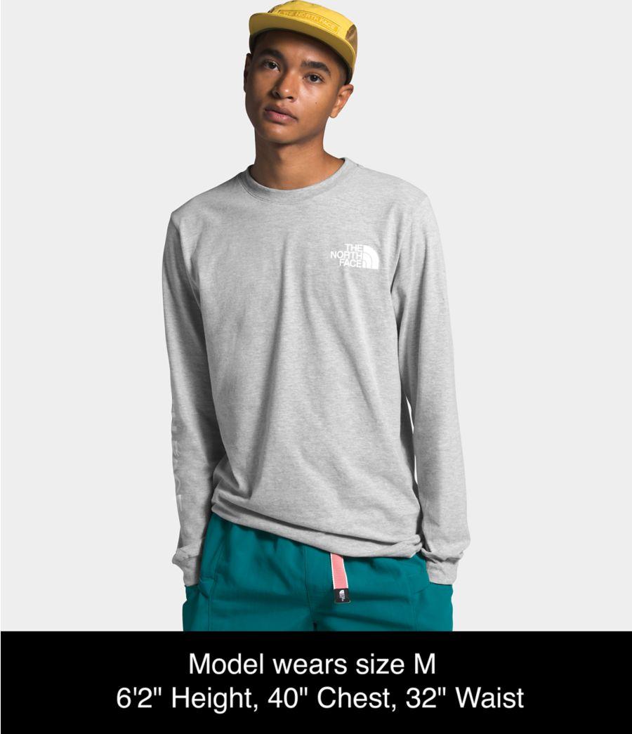 Men's Long Sleeve TNF™ Sleeve Hit Tee-
