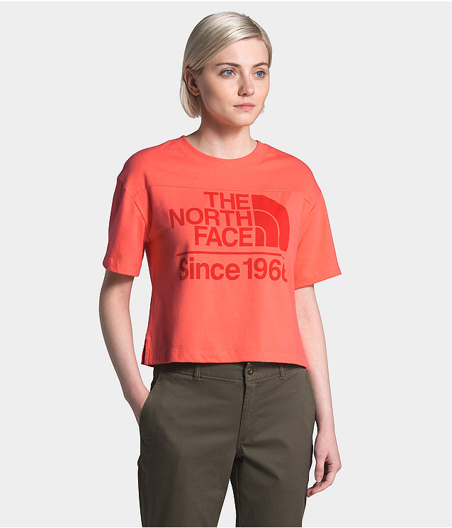 Women's S/S Field Cropped Tee