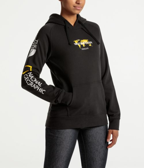 WOMENS FIND SOURCE PULLOVER HOODIE-