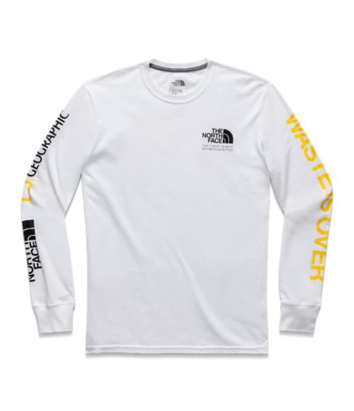MENS LONG SLEEVE FIND SOURCE TEE-