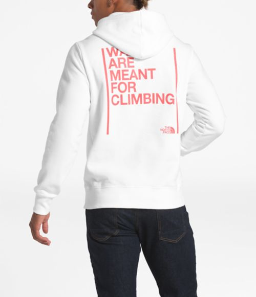 Unisex Walls Are Meant For Climbing Pullover Hoodie-