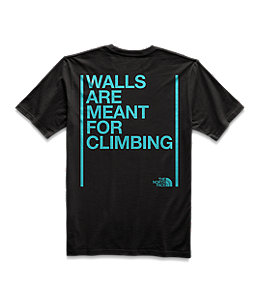 b64690ac6 Unisex Short Sleeve Walls Are Meant For Climbing Tee