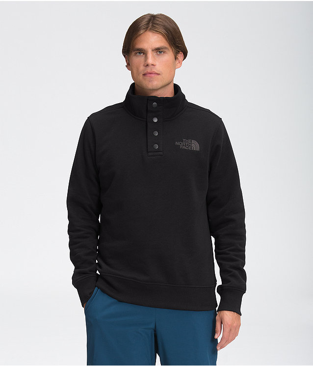 Men's Snap Fleece Pullover
