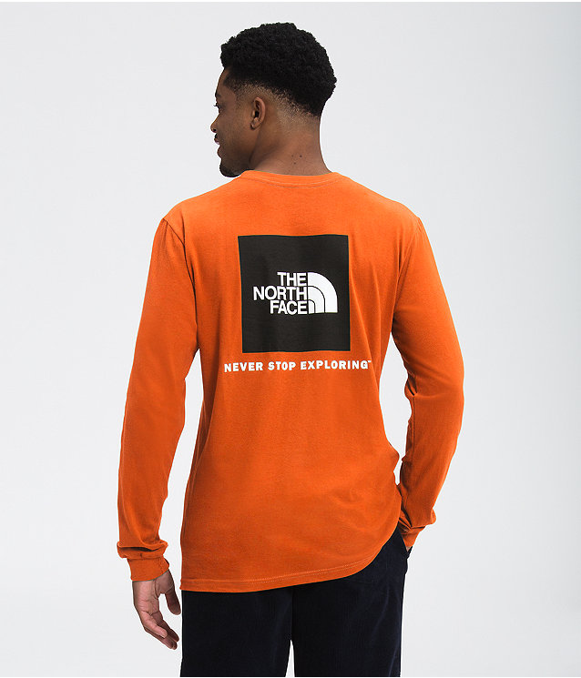 Men's Long Sleeve Box NSE Tee