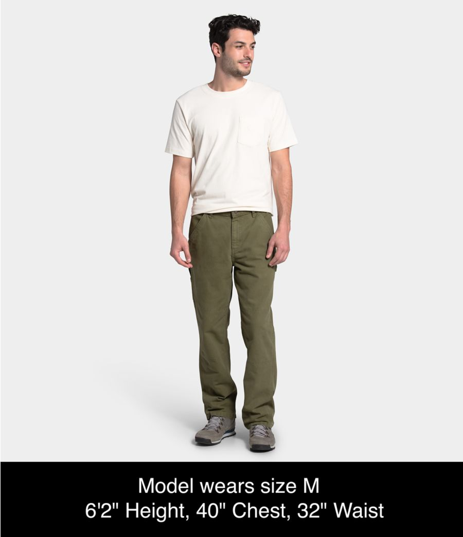 Men's Berkeley Canvas Pant-