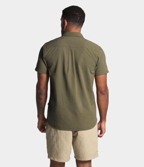 Men's Short Sleeve Baytrail Pattern Shirt-