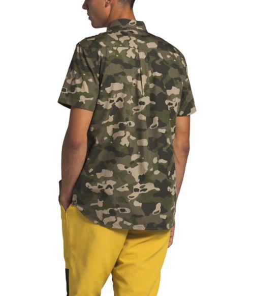 Chemise imprimée à manches courtes Baytrail pour hommes-