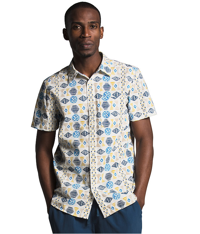 Men's Short Sleeve Baytrail Pattern Shirt