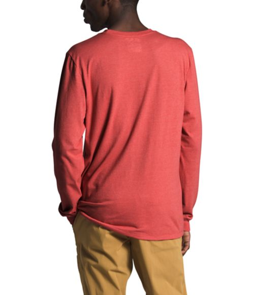 Men's Long Sleeve Recycled Materials Tee-