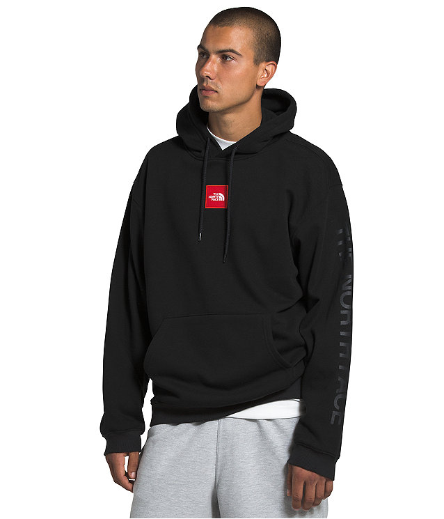 Men's Box Drop Pullover Hoodie