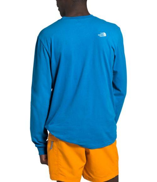 T-shirt à manches longues Half Dome pour hommes-